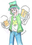 One Piece: St Patrick's Day Prompt by SUSHIFREAK101
