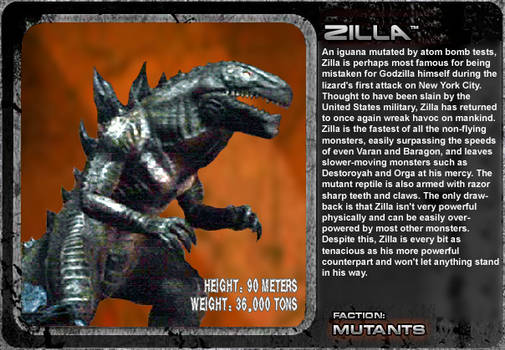 G Unleashed: Zilla