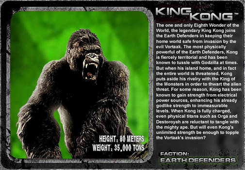 G Unleashed: King Kong