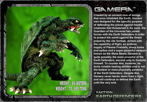 G Unleashed: Gamera