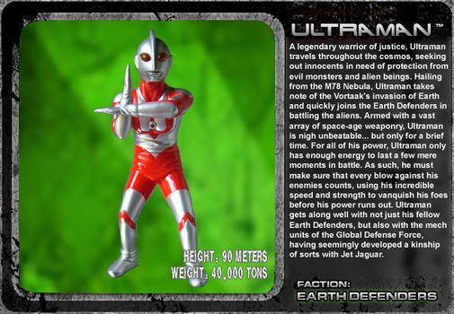 G Unleashed: Ultraman