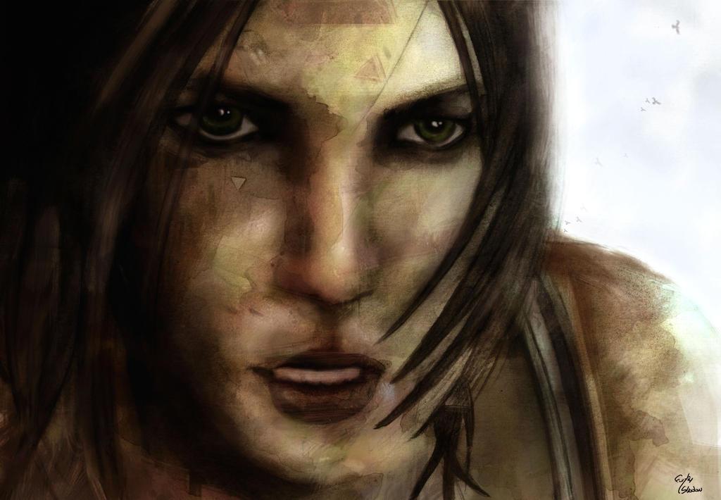 Tomb Raider / a survivor is born by funkeyshadow