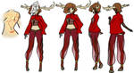 Jearsey Devil Character Design. by My-two-lives