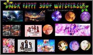 [26/8/16] PACK SHARE HAPPY 300+ WATCHERS!!!!!