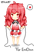 Pixelart for EmiCHan!!! by 19Yuki97