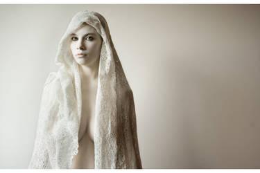 behind the veil III by Syllie