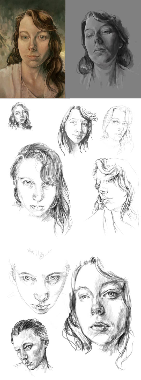 Selfportrait batch 2 february