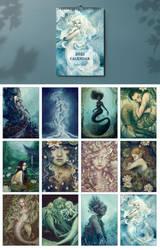 2021 Mermaid Calendar