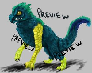 Birdleg Dragon Adoptable