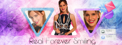 +Portada // Emma // Real Forever Smiling by Luu-Smiler