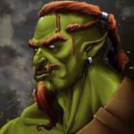 Unimpressed Orc