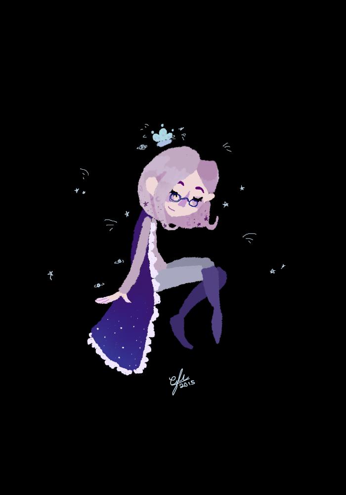 spacey queen by OceanEyes1257