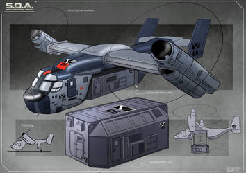 Aircraft Concept by Sarqful