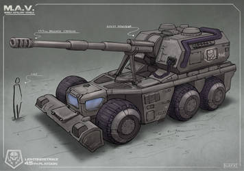 Artillery Vehicle Concept by Sarqful