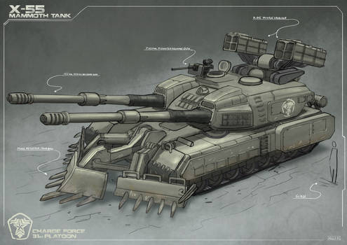 Mammoth Tank inspired concept
