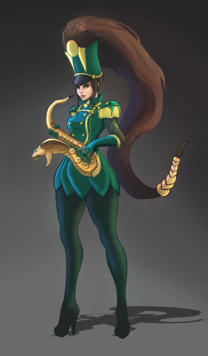 Epic Sax lady by Sarqful