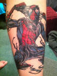 Spider-Man Tattoo: Finished 2 of 3