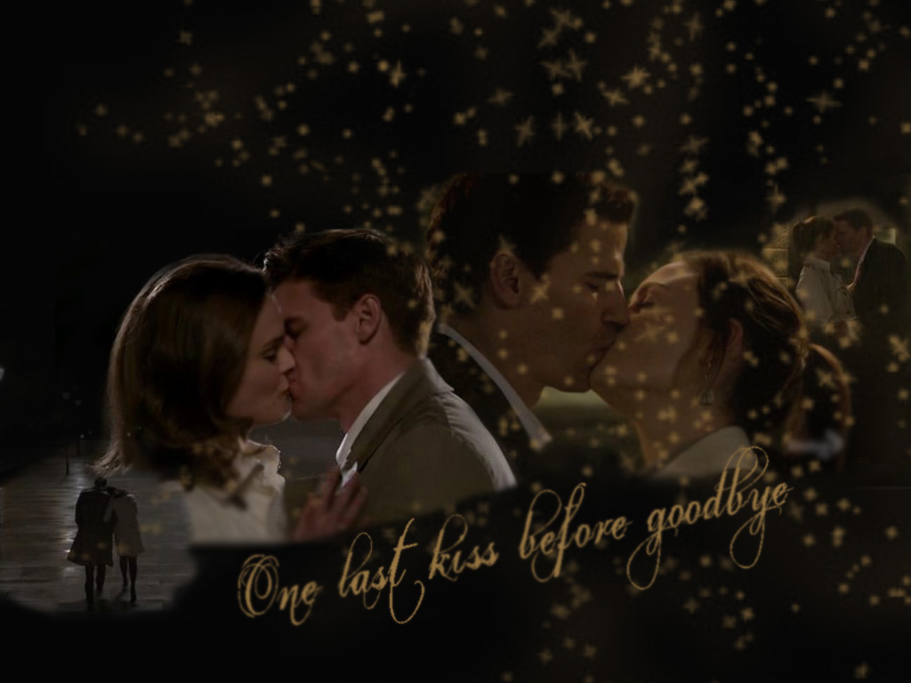 booth and bones kissing