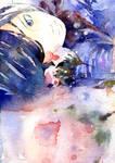 Kuroshitsuji : Ciel with rose by murai17