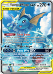 Vaporeon and Wooper GX Tag Team | Custom card