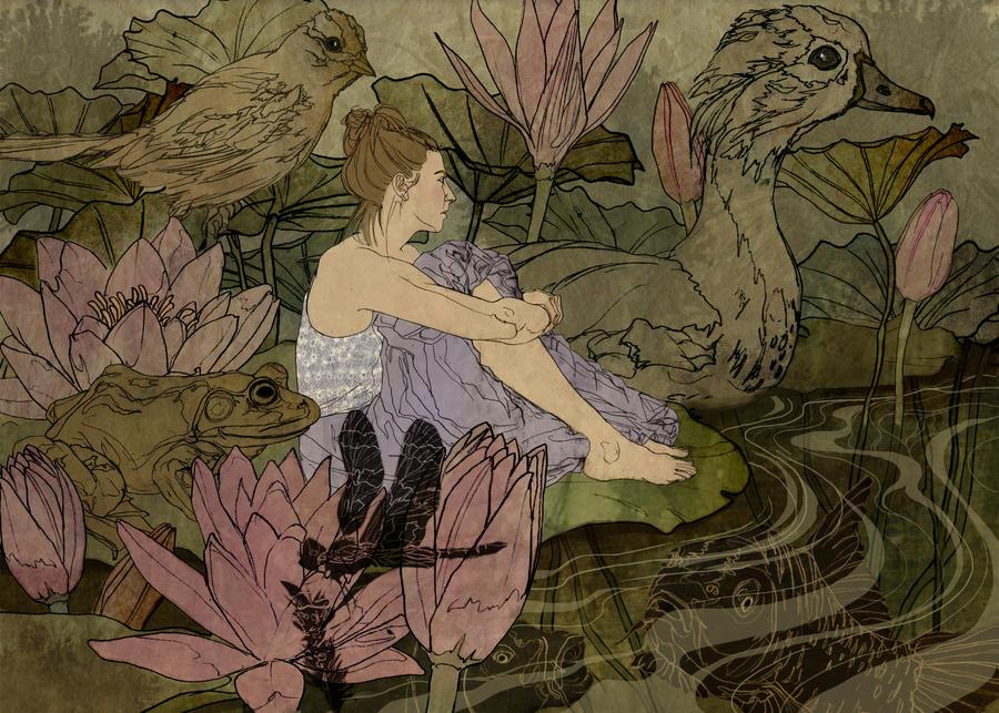 Thumbelina by AnitaSR
