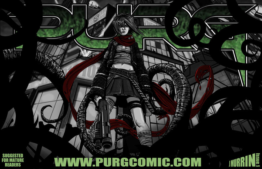 Purg issue 1 cover art by J2040