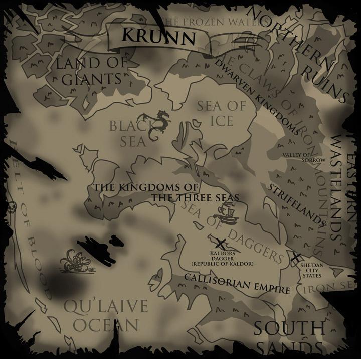 Map of Krunn by J2040