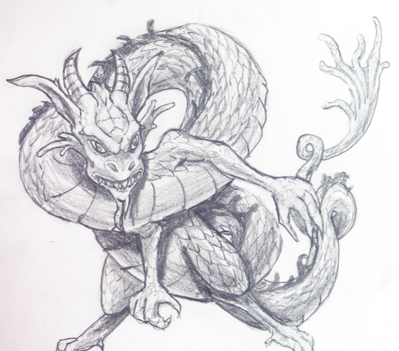 Dragonling by J2040