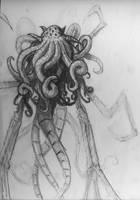 Lovecraftybeast doodle by J2040