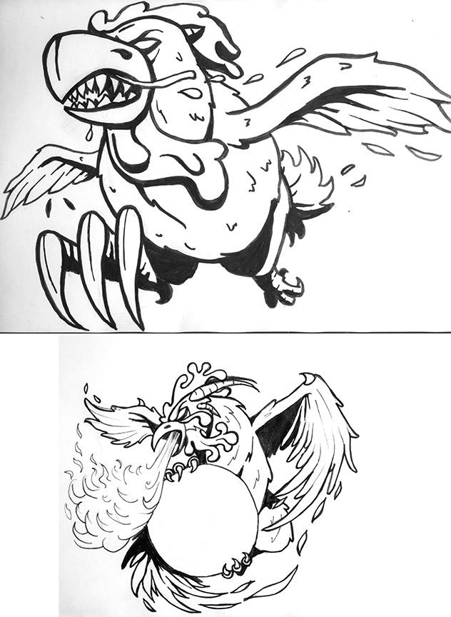 Badasschickens by J2040