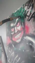 Joker painting three of three