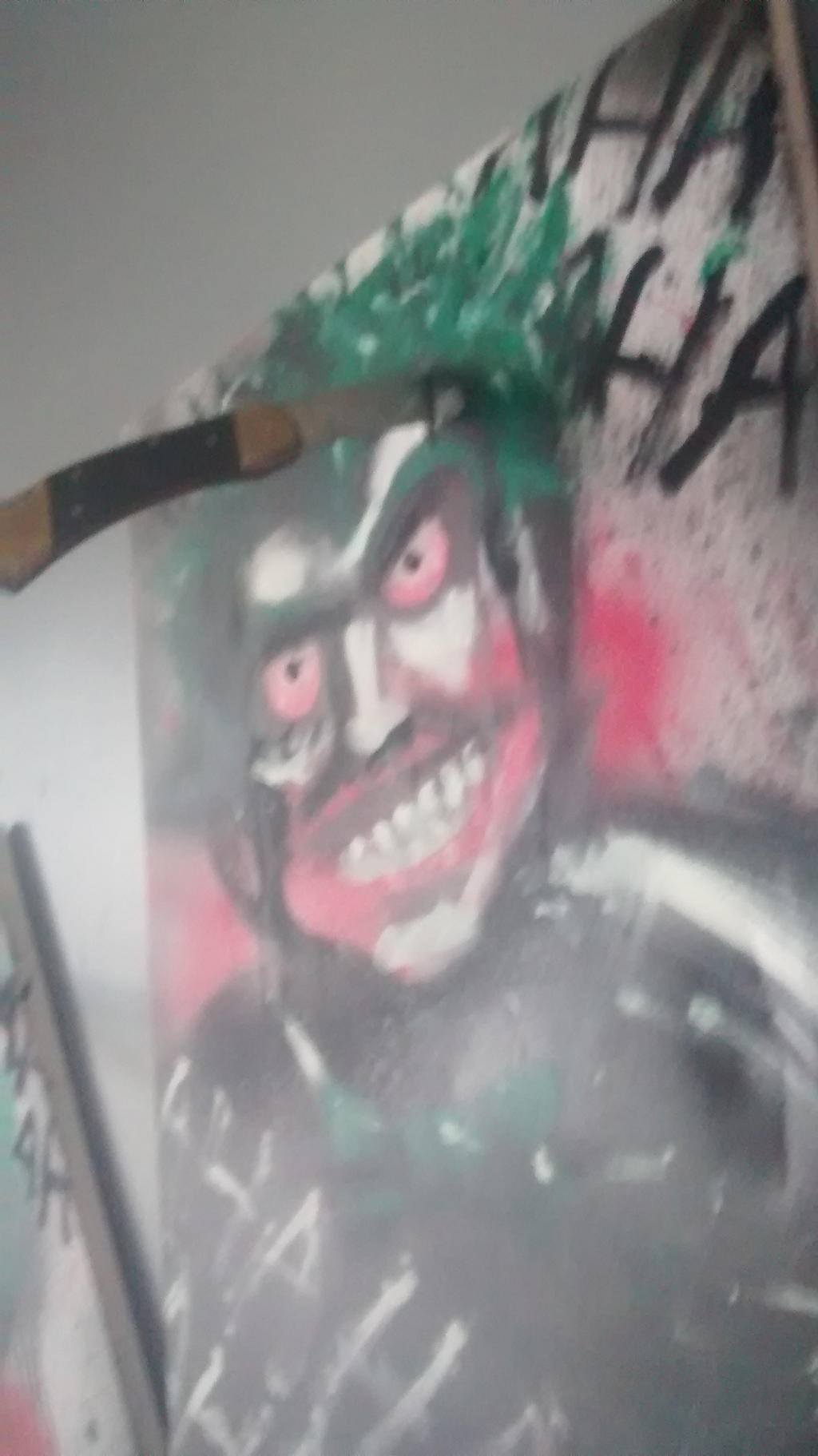 Joker painting three of three by J2040