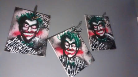 3 JOKERS PAINTING (BETTER PIC)