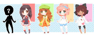 Collab Adopts 1st set - CLOSED