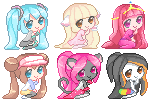 Free use pixel batch by Neko-Rina