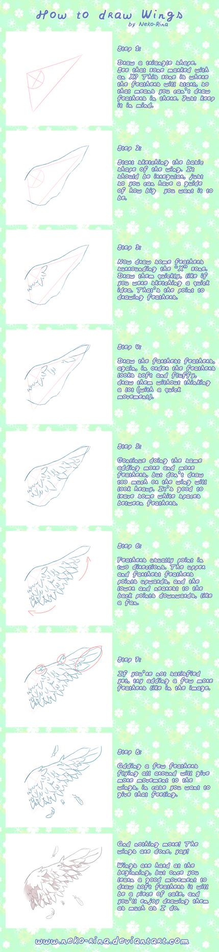How To Draw Wings by Neko-Rina