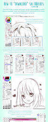 How to download SAI brushes by Neko-Rina