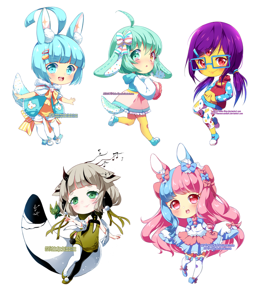 Chibi Batch 03 By Neko Rina On Deviantart