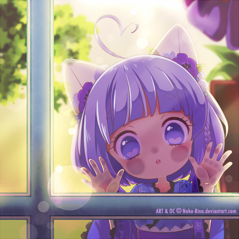 [Speedpaint] I see a stalker by Neko-Rina