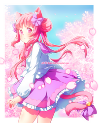 [Speedpaint] AT with PuffyPrincess