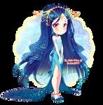 Annietine: Rench Angelfish