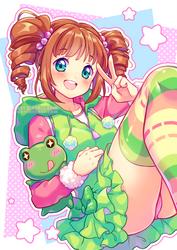 [+Video] Cute Froggy Yayoi by Neko-Rina