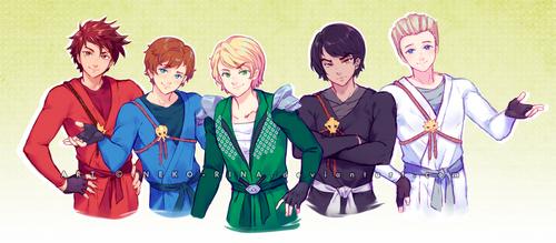 Ninjago Crew by Neko-Rina