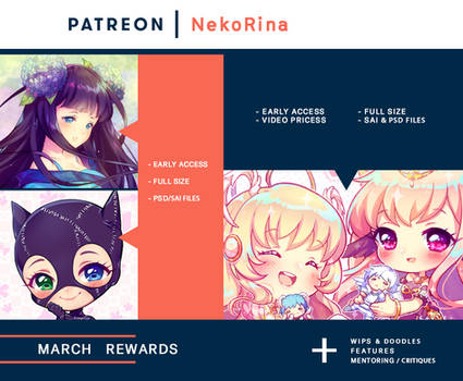 Patreon preview - March by Neko-Rina