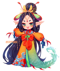 Annie Design: Peacock Mantis Shrimp by Neko-Rina