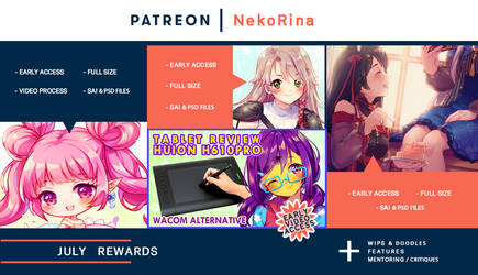 Patreon preview July