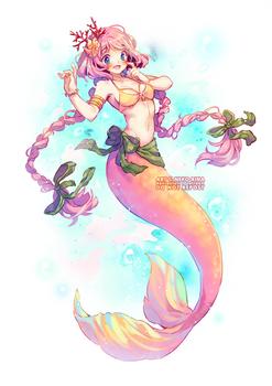 [Video] Mermaid Haru
