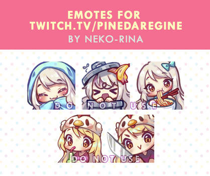 Emotes for PinedaRegine