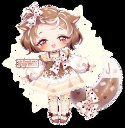 Fairy Vial Design: Cocoa Cat