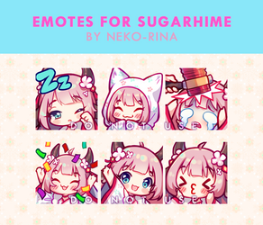 [Video] Emotes for Sugarhime